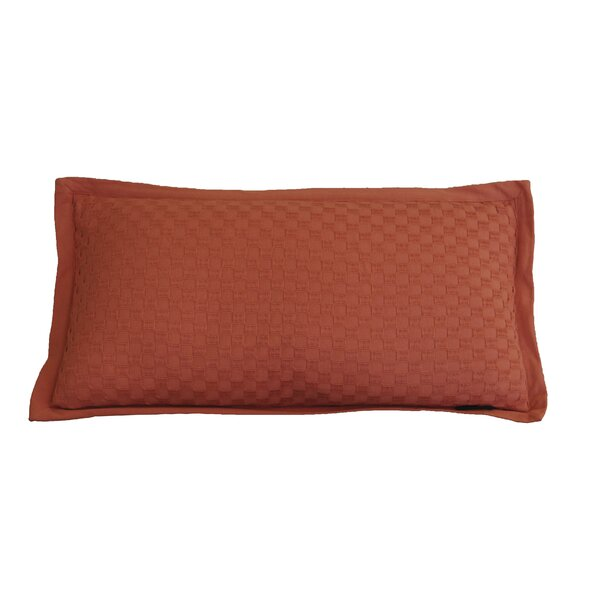 Kennington Honeycomb Texture Cotton Lumbar Pillow by Winston Porter