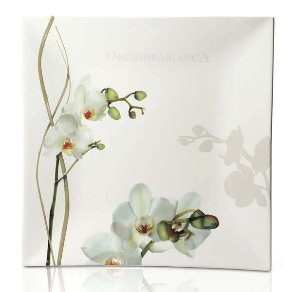 Vivere Orchid Square Platter by Intrada Italy