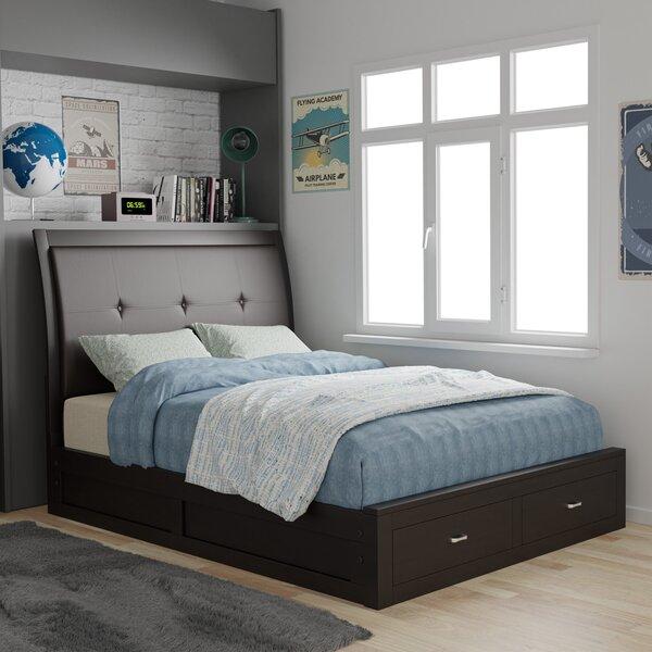 Bravo Upholstered Storage Standard Bed By Hokku Designs
