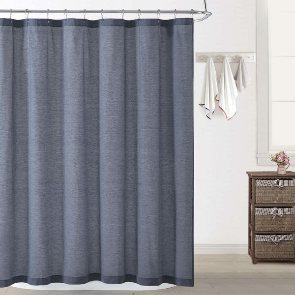Wallingford Woods Chambray Shower Curtain by The Twillery Co.