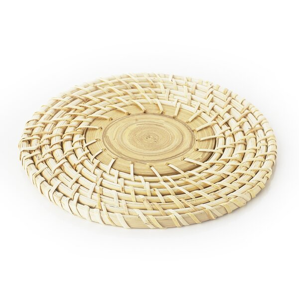 Bamboo Woven Trivet by Bloomsbury Market