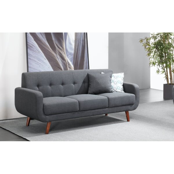 Witkowski 71'' Round Arm Sofa By Corrigan Studio