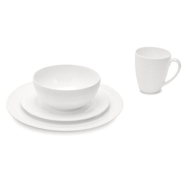 Bush 32 Piece Bone China Dinnerware Set, Service for 8 by Orren Ellis