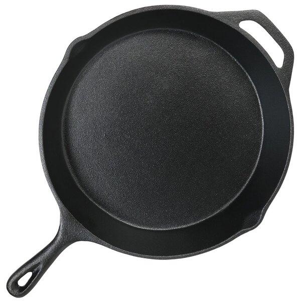 Norita 12 Cast Iron Frying Pan Skillet By Charlton Home.
