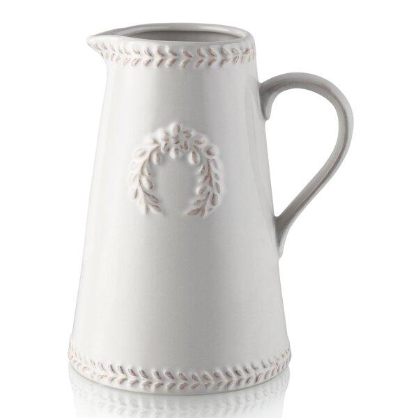 Ceramic Pitcher Vase Wayfair