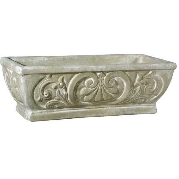 Fiberbtone Planter Box by OrlandiStatuary