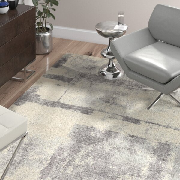 Luxton Ivory Area Rug by Wade Logan