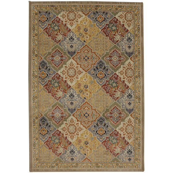 Mellal Pumpkin Area Rug by World Menagerie