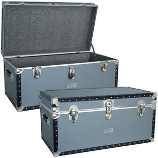 Beau Walser Silver Trunk With FullTray