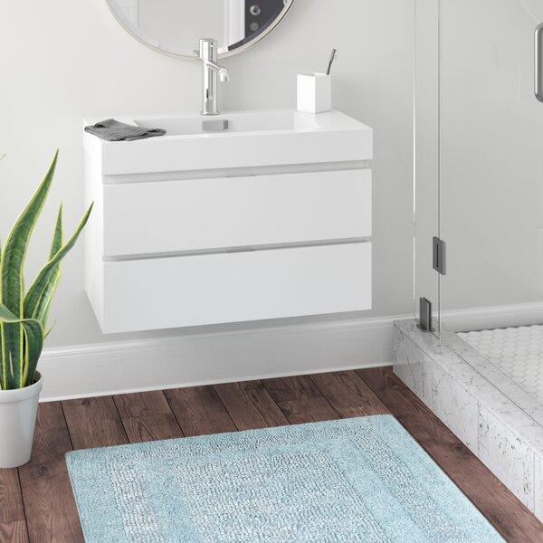Tenafly 36 Single Wall Mount Bathroom Vanity Set by Wade Logan