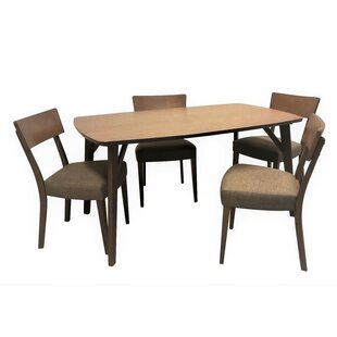 Crompton 5 Piece Breakfast Nook Dining Set By George Oliver
