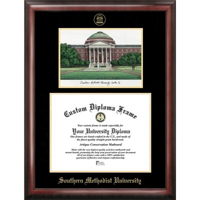 Campus Images NCAA Gold Embossed Diploma Frame with Campus Images ...