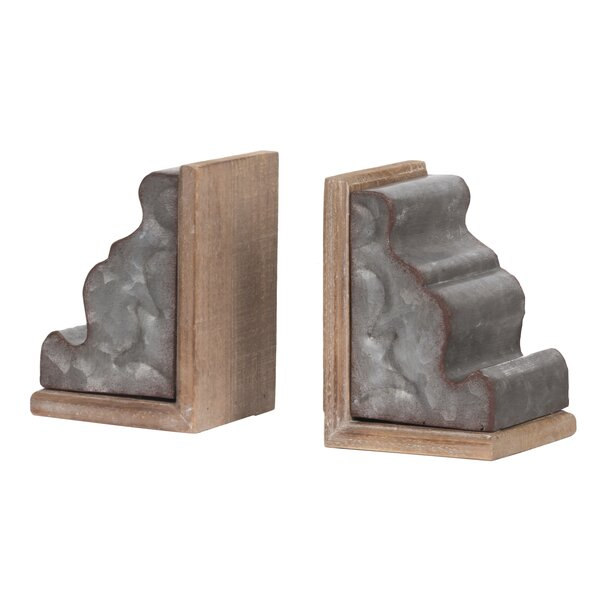 Bookends (Set of 2) by Gracie Oaks