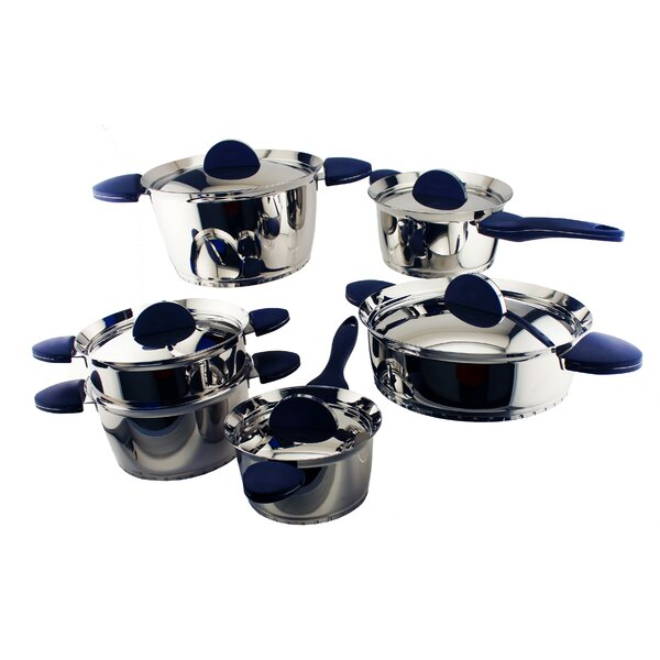 Stacca 11-Piece Cookware Set by BergHOFF International