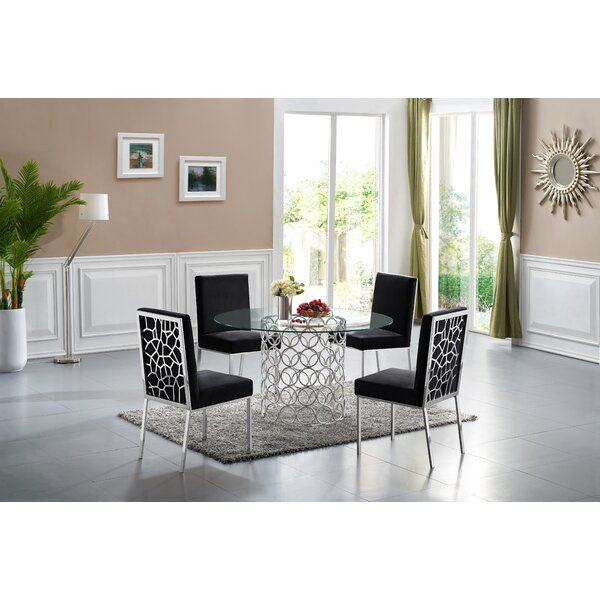 Pamela 5 Piece Dining Set by Everly Quinn Everly Quinn