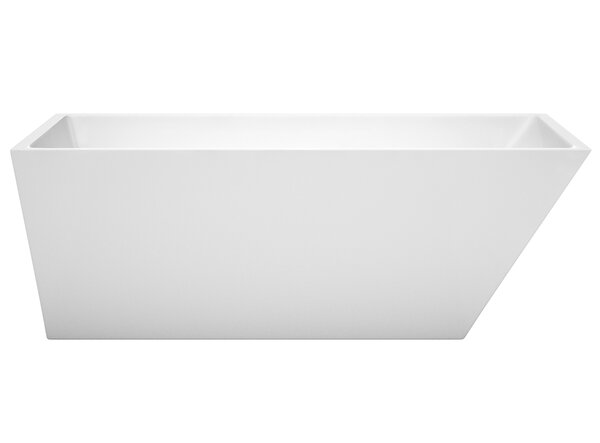 Hannah 67 x 31.5 Freestanding Soaking Bathtub by Wyndham Collection