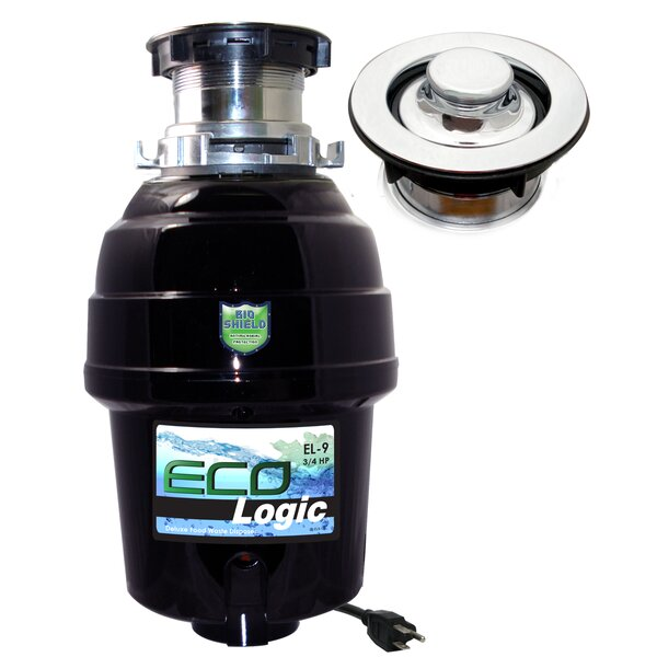 3/4 HP Continuous Feed Garbage Disposal by Eco Logic