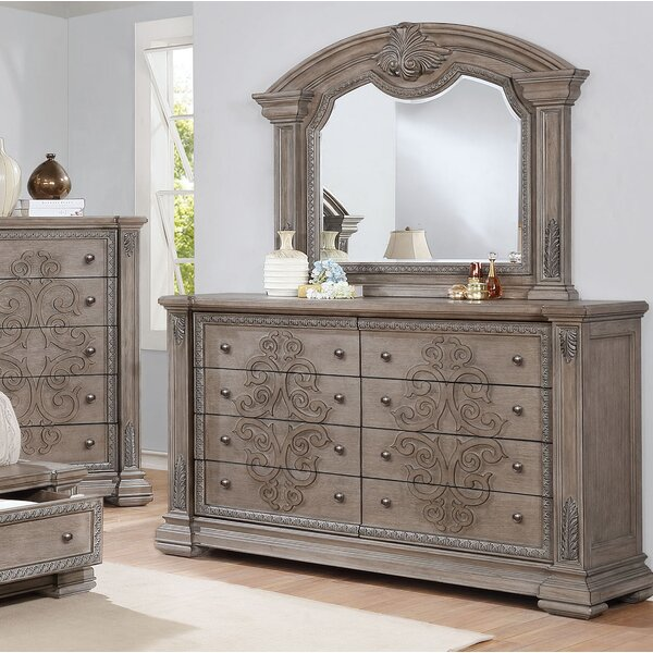 Braddy Dresser with Mirror by Astoria Grand