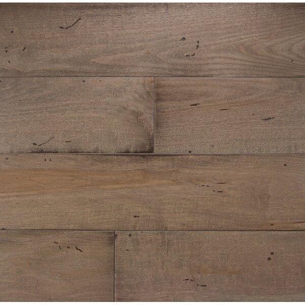 Wide Plank 6 Engineered Maple Hardwood Flooring in Mist by Somerset Floors