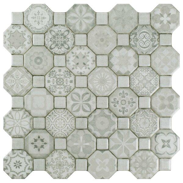 Edredon 12.25 x 12.25 Ceramic Tile in Gray by EliteTile