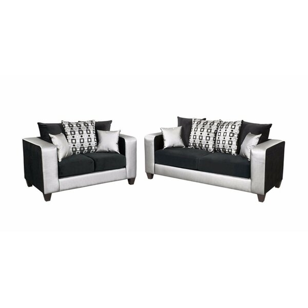 Winburn Velvet 2 Piece Living Room Set By Latitude Run Today Only Sale