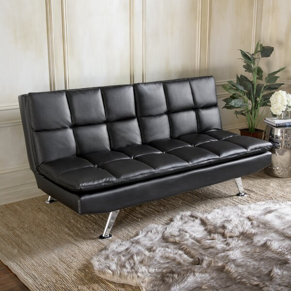 Rolston Split Back Convertible Sofa by Orren Ellis
