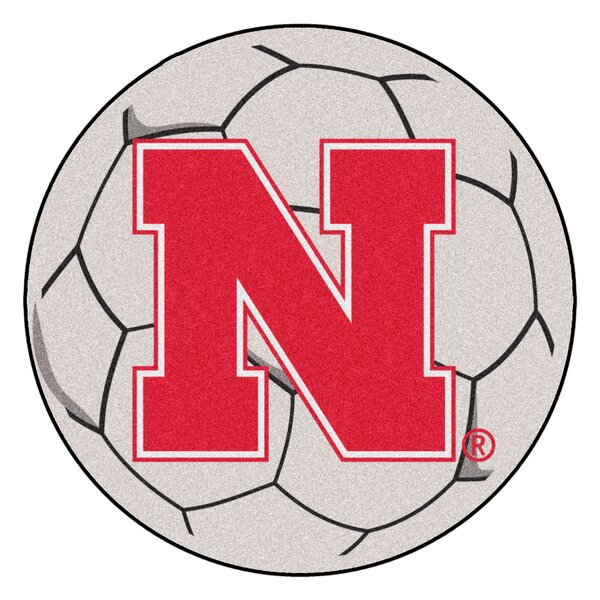 NCAA University of Nebraska Soccer Ball by FANMATS