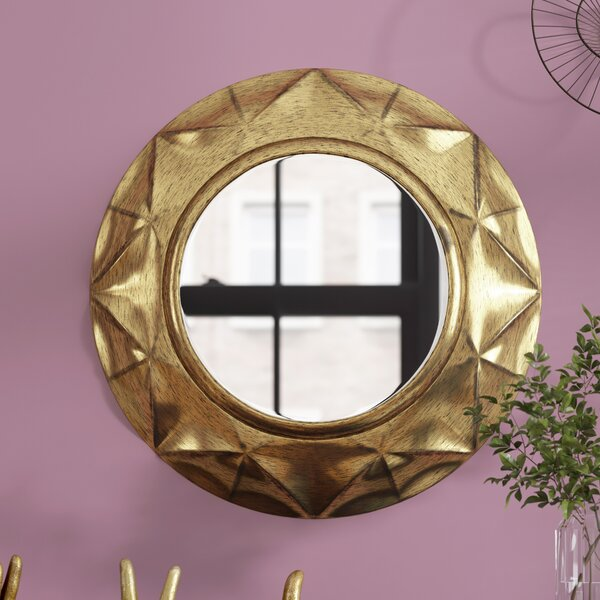20 Round Accent Mirror by Wrought Studio