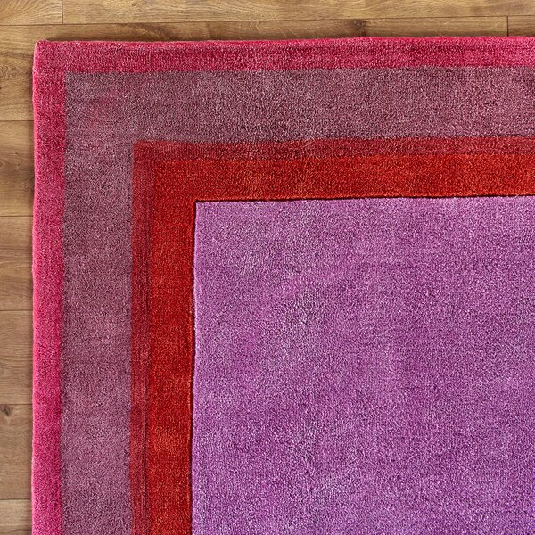 Color Block Pink Rug by Birch Lane Kids™