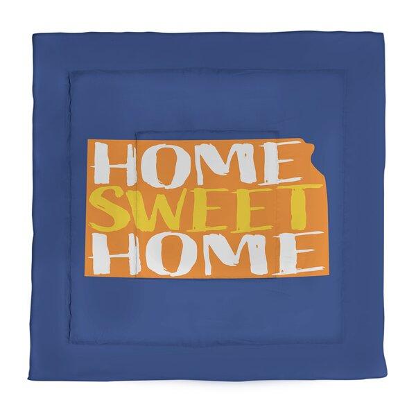 Home Sweet Kansas Single Reversible Comforter