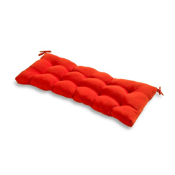 Sarver Indoor/Outdoor Bench Cushion by Andover Mills