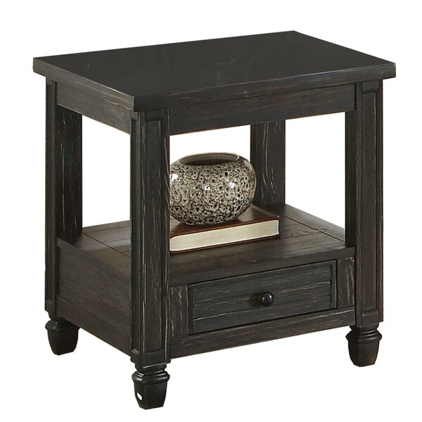 Cadwell End Table with Storage by Gracie Oaks Gracie Oaks