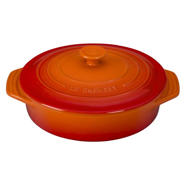 Stoneware Oval Covered Casserole by Le Creuset