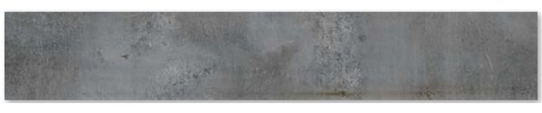 Burton Stone 6 x 36 Porcelain Field Tile in Grafito Gray by Walkon Tile