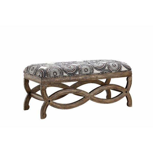 Litchfield Upholstered Bench By Ophelia & Co. Savings