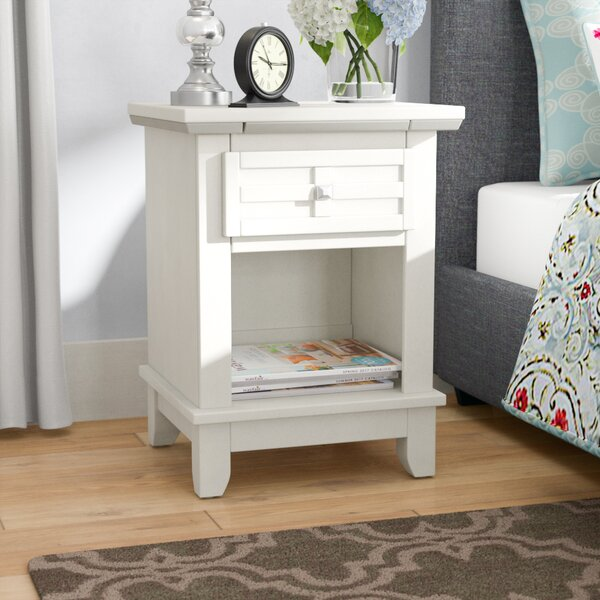 Ferryhill 1 Drawer Night Stand by Three Posts