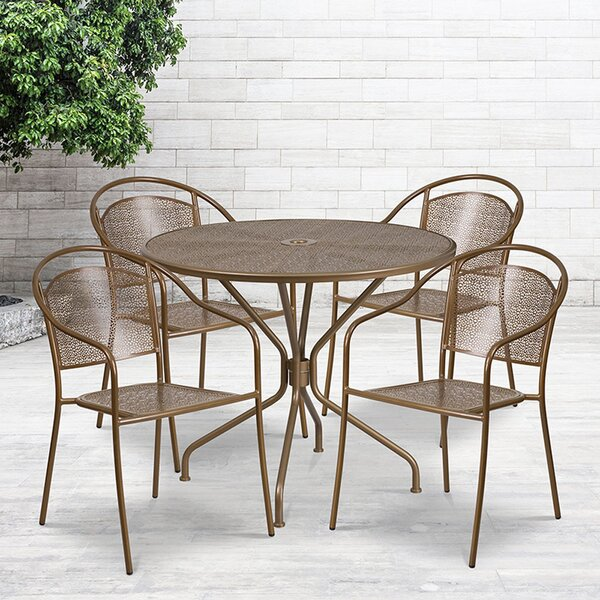 Oxbrooke 5 Piece Dining Set By Wrought Studio by Wrought Studio Wonderful