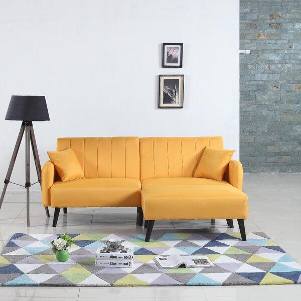 Ryegate Mid Century Convertible Sofa by George Oli