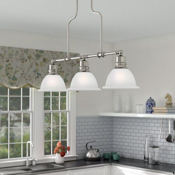 Gradall 3-Light Kitchen Island Pendant by Three Posts