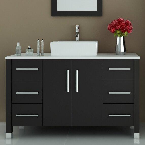 Fichter 47 Single Bathroom Vanity Set by Wrought Studio