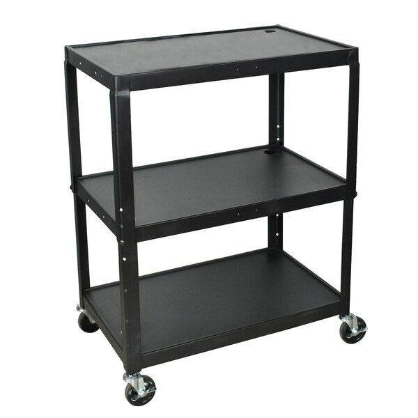 Extra Wide AV Cart by Luxor