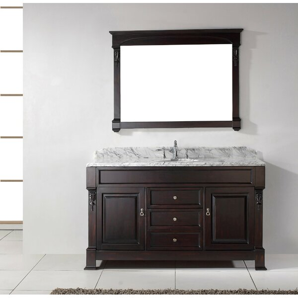 Maison 60 Single Bathroom Vanity Set with Mirror by Darby Home Co