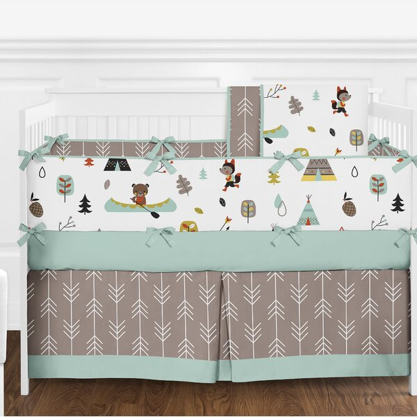 Outdoor Adventure 9 Piece Crib Bedding Set by Swee