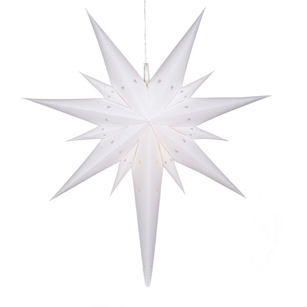 Fold-Flat LED 12 Light Star Lighting by The Holiday Aisle