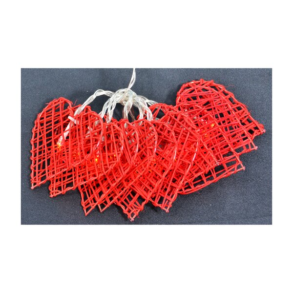 Heart String Lights by The Holiday Aisle