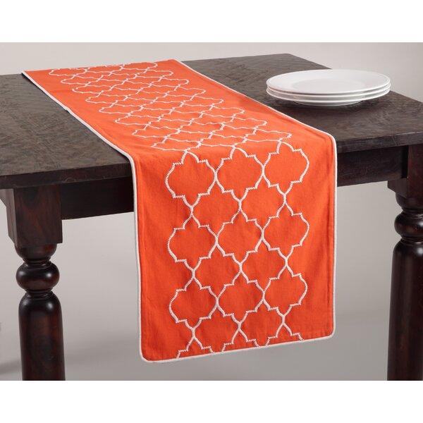 Malaga Moroccan Design Table Runner by Saro