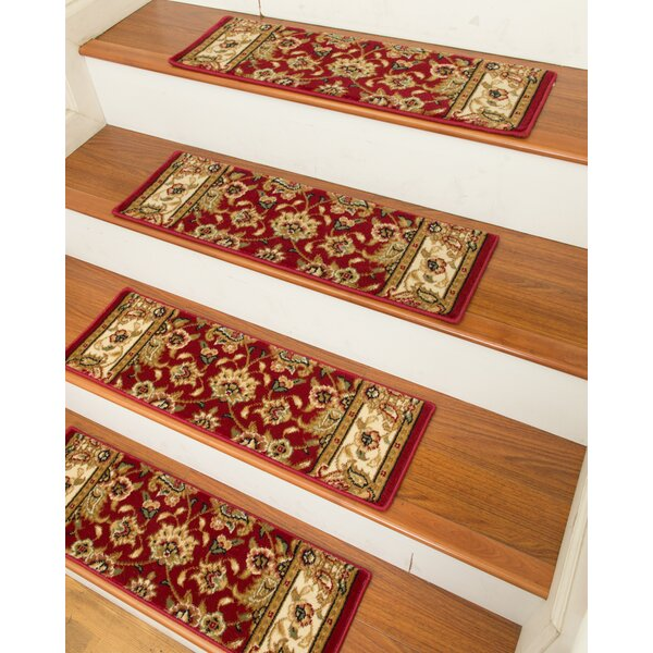 Essen Classic Persian Stair Tread (Set of 13) by Natural Area Rugs