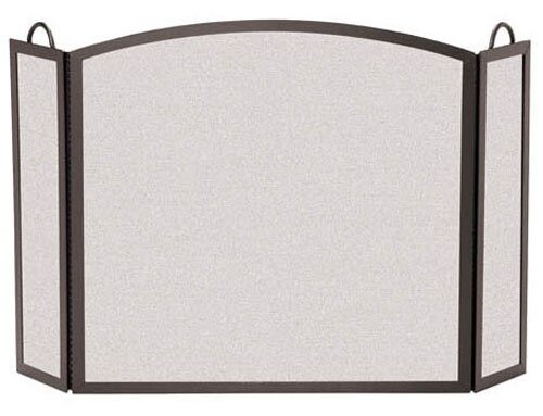 3 Panel Fireplace Screen By Pilgrim Hearth