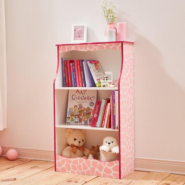 Teamson Kids Fashion Prints Giraffe 2-Shelf 40 Bookcase by Fantasy Fields