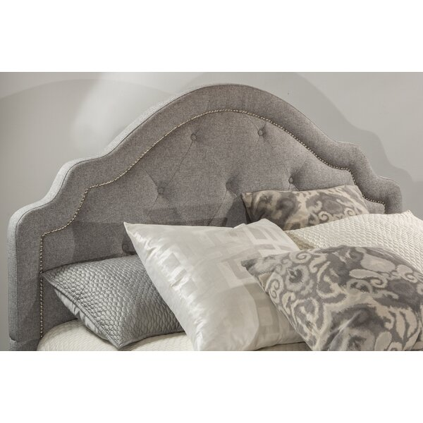 Broughtonville Upholstered Panel Headboard by Rosdorf Park